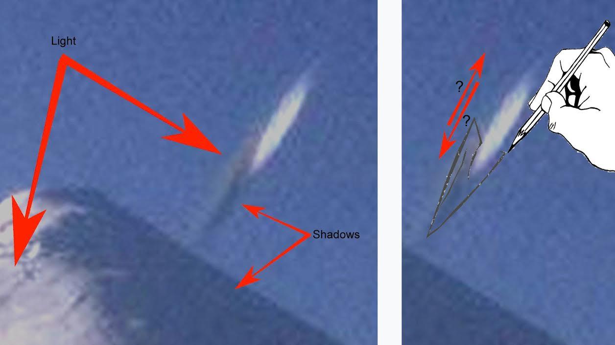 Análisis anomalía en fotografía en volcán Osorno (Chile)
