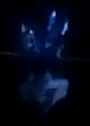 Otro de los muchos fotogramas que demuestran que el objeto avistado en Pachacamac no era un humanoide, ERA UN GLOBO DE HELIO.