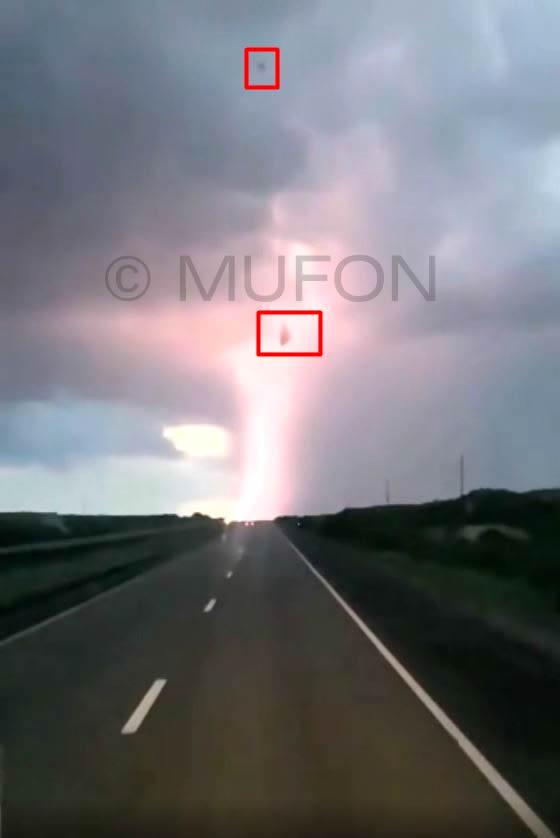 Caso 117989: Supuesto objeto durante tormenta en Brasil