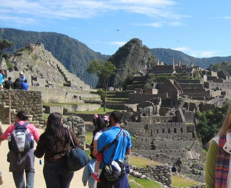 Anomalías en Fotografía captada en Machu Picchu