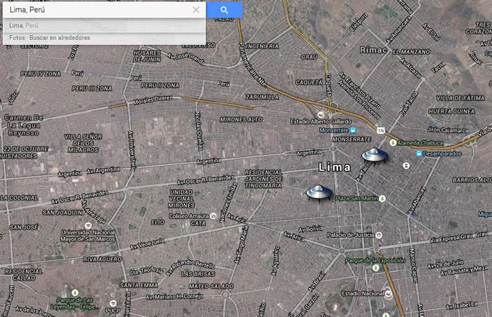 Testigo reporta avistamiento de OVNI Triangular en Lima, Perú (26 de mayo 2015)