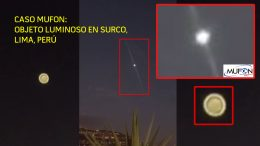 Objeto volador luminoso aparece sobre Casuarinas en Surco, Lima, Perú (Vídeo)